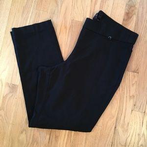 Rafaella black pull on pants 20W